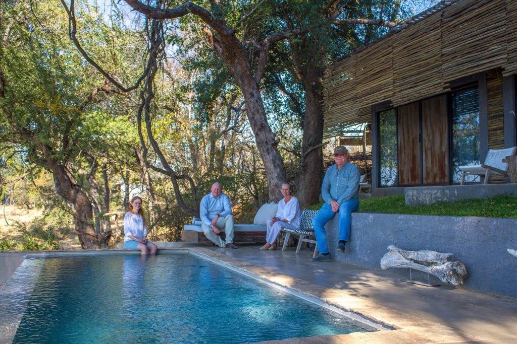 The Gardiner family of Matetsi Victoria Falls